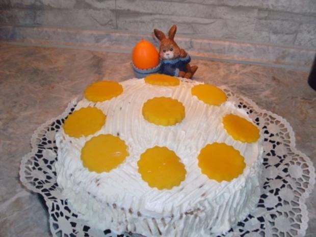 Mango-Quark-Torte - Rezept