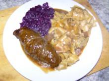Rouladen mit Mettwürstchen - Rezept