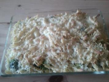 Brokkoli-Nudel-Gratin - Rezept