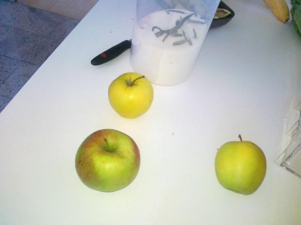 Hefe – Apfel – Blechkuchen mit eingelegten Rosinen ( 24 Monate ) - Rezept