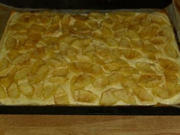 Blätterteig-Apfelflammkuchen - Rezept