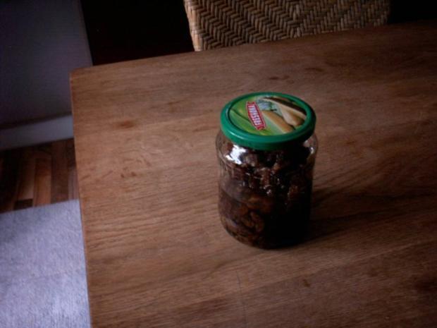 eingelegte Rosinen fürs Osterbrot, Osterkuchen - Rezept - Bild Nr. 2