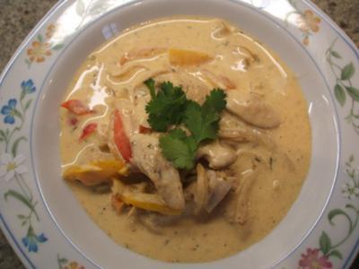 Suppen: Gyros-Suppe aus Hühnerfleisch - Rezept