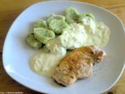 Bärlauch-Gnocchi mit Frischkäse-Sauce - Rezept