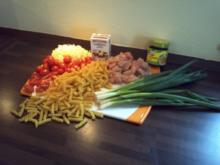 Hühner-Nudelauflauf - Rezept