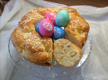 Süßes Osternest - Rezept