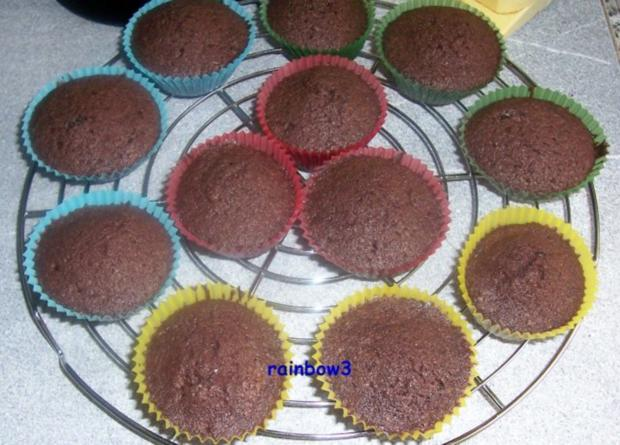 Backen: Oster-Schoko-Cupcakes - Rezept - Bild Nr. 3