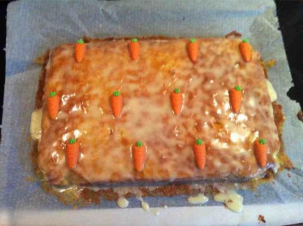 """KUCHEN"" Carrot Cake - Rezept"