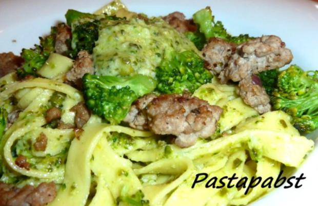 Tagliatelle mit Broccoli Pesto - Rezept - Bild Nr. 3
