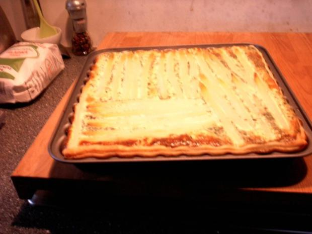 Kartoffel- Spargel- Tarte - Rezept