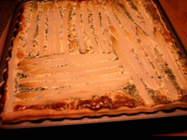 Kartoffel- Spargel- Tarte - Rezept - Bild Nr. 2