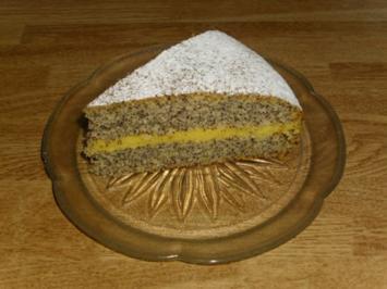 gefüllter Mohnkuchen - Rezept