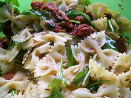 Rucola - Nudel - Salat - Rezept - Bild Nr. 2