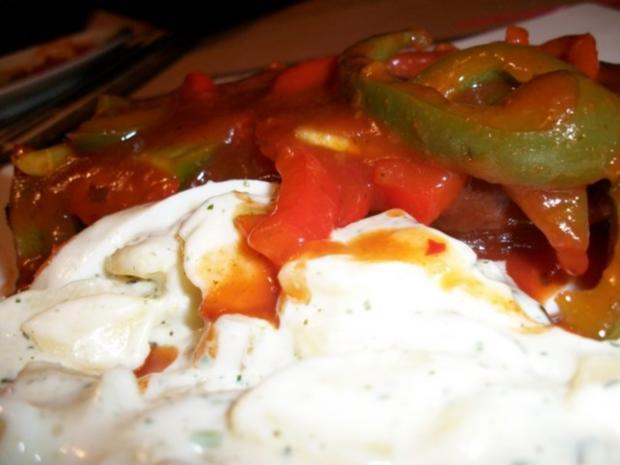Zigeunerschnitzel mit Kartoffelsalat aller Andy - Rezept - Bild Nr. 3