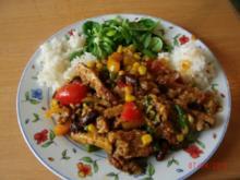 Restefleisch-Gemüsepfännchen - Rezept