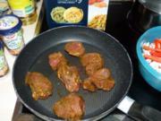 Schweinemedaillons mit Tagliatelle - Rezept