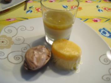 Orangenparfait - Rezept