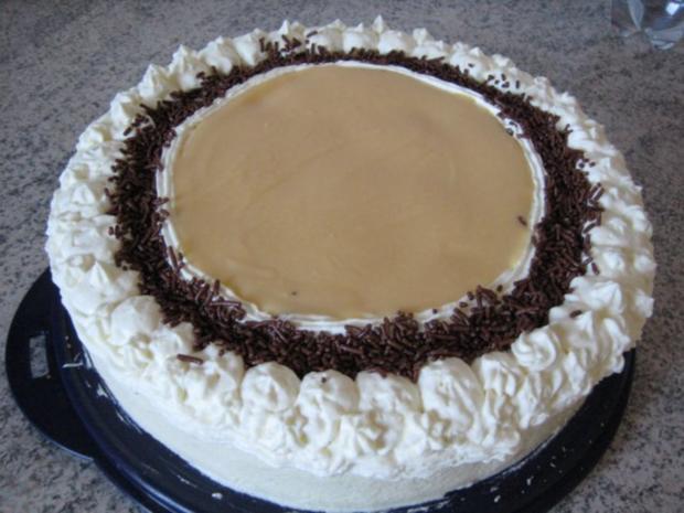 Torte mit leichter Marzipannote - Rezept