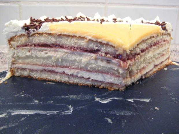Torte mit leichter Marzipannote - Rezept - Bild Nr. 7