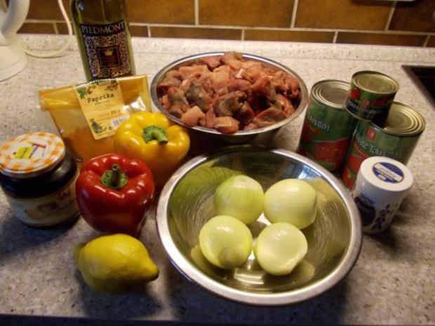 Ungarisches paprikagulasch rezept mit bild for Ungarisches paprikapulver