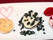 Dreierlei Mini-Cupcake-Pralinés - Rezept
