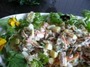 SALAT / SPARGEL mit Hähnchenfilet & Kartoffeln - Rezept