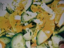 Gurken-Chicorée mit Fetakäse - Rezept