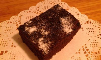 Brownies ( Amerikanischer Schokoladenkuchen) - Rezept