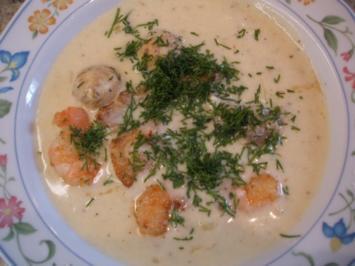 Suppen: Fenchelsuppe mit Edelfischen - Rezept