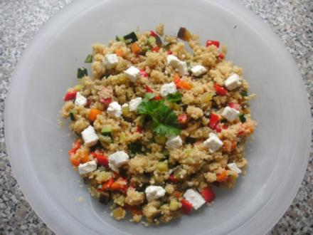 Couscous-Gemüse-Salat - Rezept