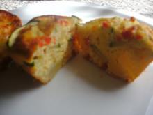 Zucchini-Kartoffel-Muffins - Rezept