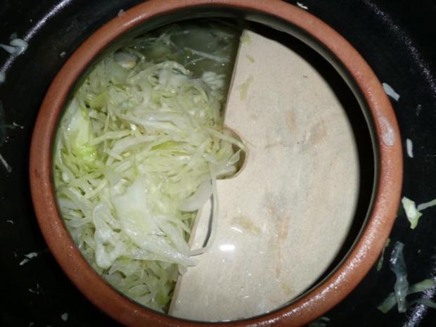 Sauerkraut einschneiden ( selber herstellen) !! - Rezept - Bild Nr. 9
