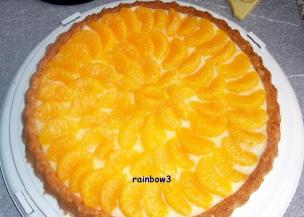 Backen: Mandarinen-Torte - Rezept - Bild Nr. 3