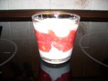 Dessert: Rhabarber-Tiramisu im Glas - Rezept