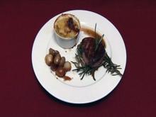 Rosmarin-Filet mit Schalotten und Trüffelgratin (Paul Jahnke) - Rezept