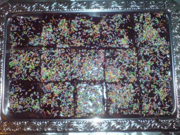 zergeht auf der zunge-schokoladenkuchen - Rezept