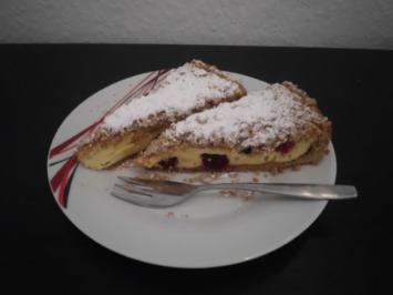 Cranberrie-Quark-Kuchen - Rezept