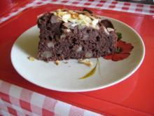 Birnen - Schokoladen Kuchen - Rezept