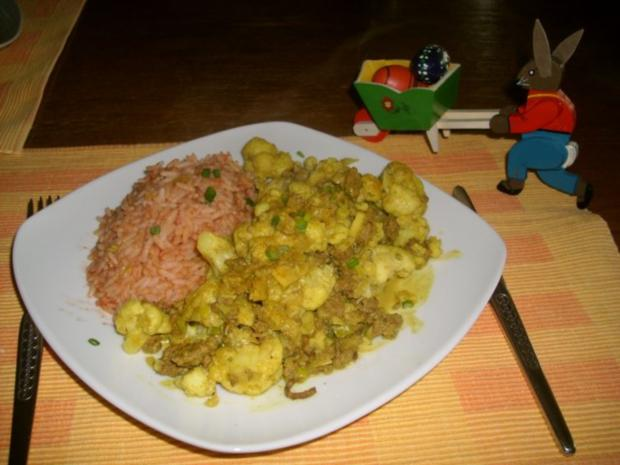 Blumenkohl-Curry>> - Rezept