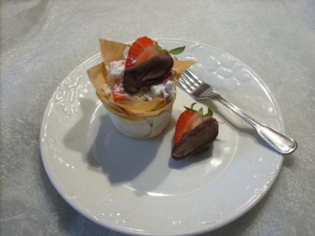 Erdbeer - Himbeer - Körbchen - Rezept - Bild Nr. 2