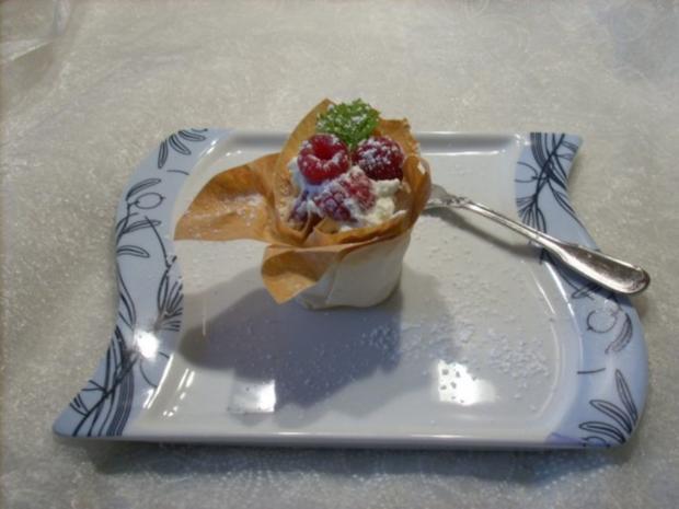 Erdbeer - Himbeer - Körbchen - Rezept - Bild Nr. 4