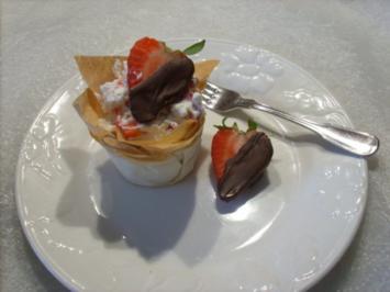 Erdbeer - Himbeer - Körbchen - Rezept