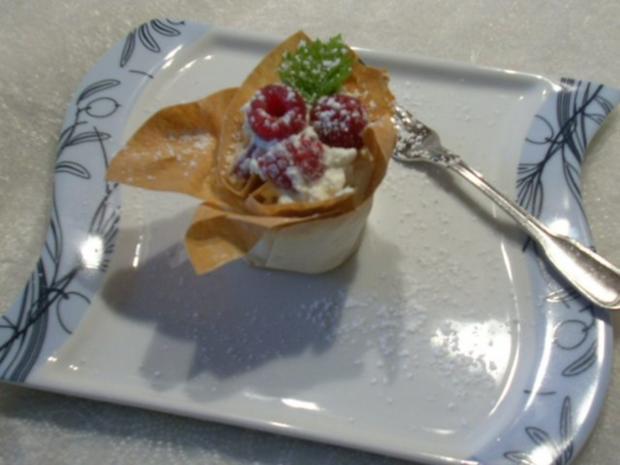 Erdbeer - Himbeer - Körbchen - Rezept - Bild Nr. 3
