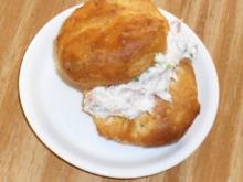 Windbeutel mit Thunfischcreme - Rezept