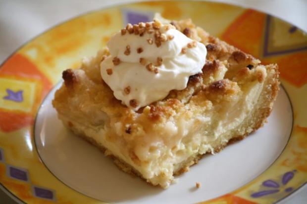Rhabarber Quark Kuchen Rezept Mit Bild Kochbar De