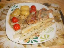 Spargel-Filet-Auflauf - Rezept
