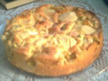 Rhabarber-Apfel-Kuchen - Rezept