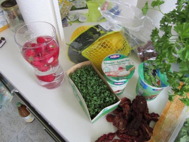Schmand mit Tomaten.. Dip - Rezept - Bild Nr. 2