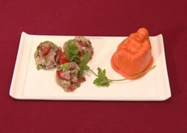 Thunfischtatar mit Couscous (Vanessa Jung) - Rezept