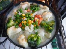 Fleischlos : Gemüsepfanne aus dem Backofen - Rezept
